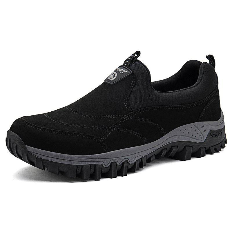 Discount Men Leisure Sneakers Outdoor Anti-slip Slip-on Hiking Shoes