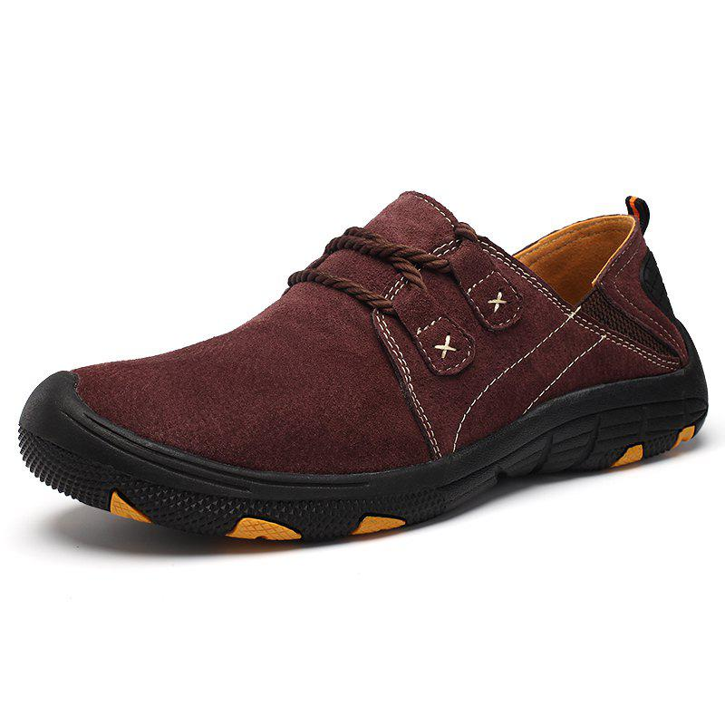 Cheap Men's Leather Casual Shoes Outdoor