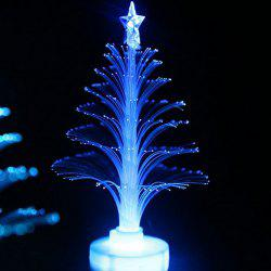 Colorful Fiber Optic Colorful Flash Christmas Tree Night Light -