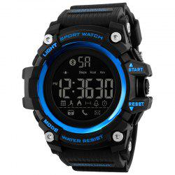 Skmei 1385 Upgrade Bluetooth Smart Multi-function Step Reminder Watch -