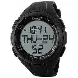 Skmei 1122 Male Waterproof Electronic Multi-function Running Watch -
