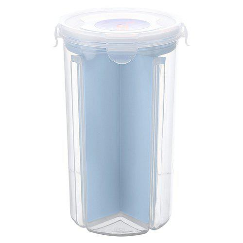Fashion Sealed Cans Grain Storage Tank Rotating Plastic Kitchen Storage Box Food Grade Storage Box Dry Goods Storage Tank