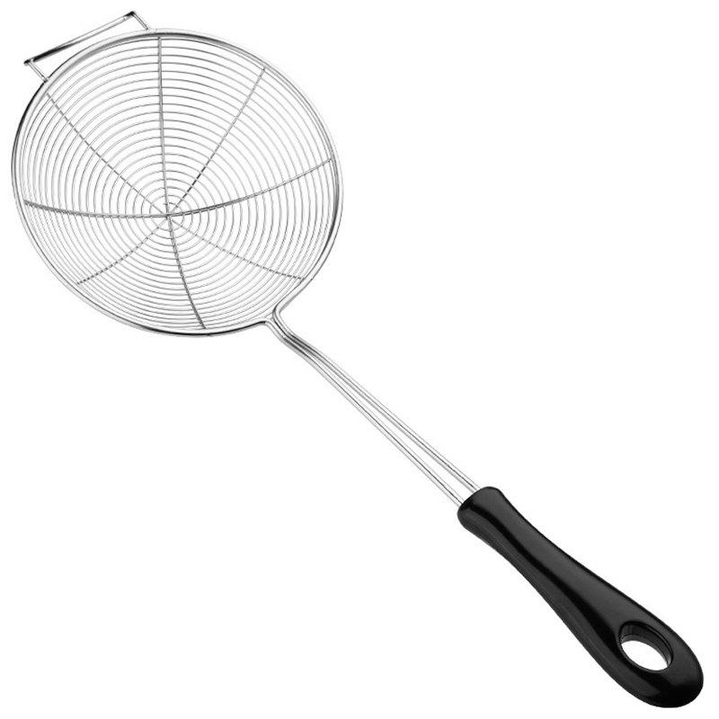 Shop Colander 304 Kitchen Stainless Steel Hot Pot Spoon Line Filter Spoon Fried Fishing Noodle Spoon Spicy Hot Mesh Spoon