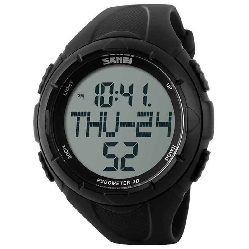 Discount Skmei 1122 Male Waterproof Electronic Multi-function Running Watch