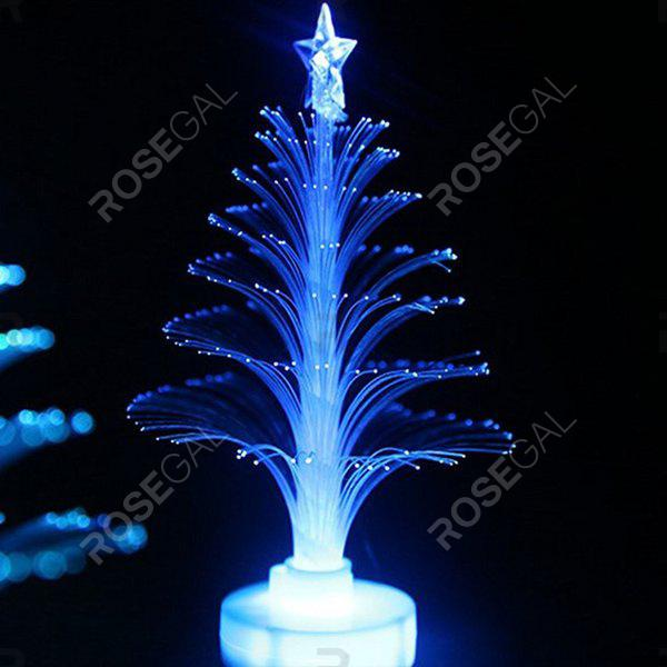 Online Colorful Fiber Optic Colorful Flash Christmas Tree Night Light