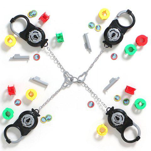 1254 Athletic Maze Handcuffs Desktop Game Puzzle Brain Inspired Interactive Toys