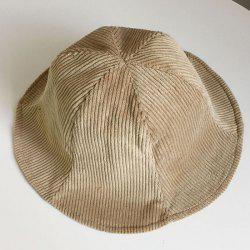 Autumn and Winter Double-faced Corduroy Fisherman Hat -