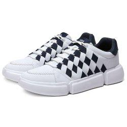 Men's Woven Casual Breathable Skate Shoes -
