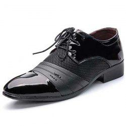 Men's Shoes Leather Lace Up Wearable -
