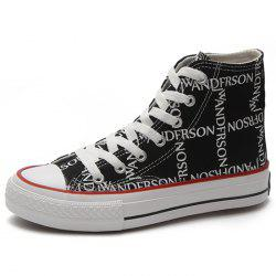 High Cut Women Canvas Shoes -