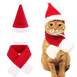 Christmas Day Dog Dress Up Cool Cat Hat -