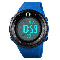 Skmei 1420 Male Double Display Multi-function Outdoor Sports Watch -