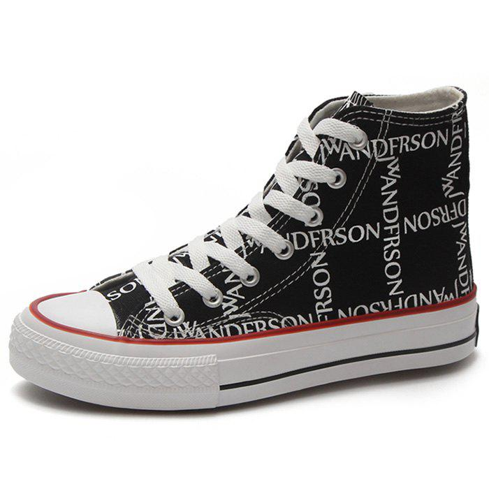 Discount High Cut Women Canvas Shoes