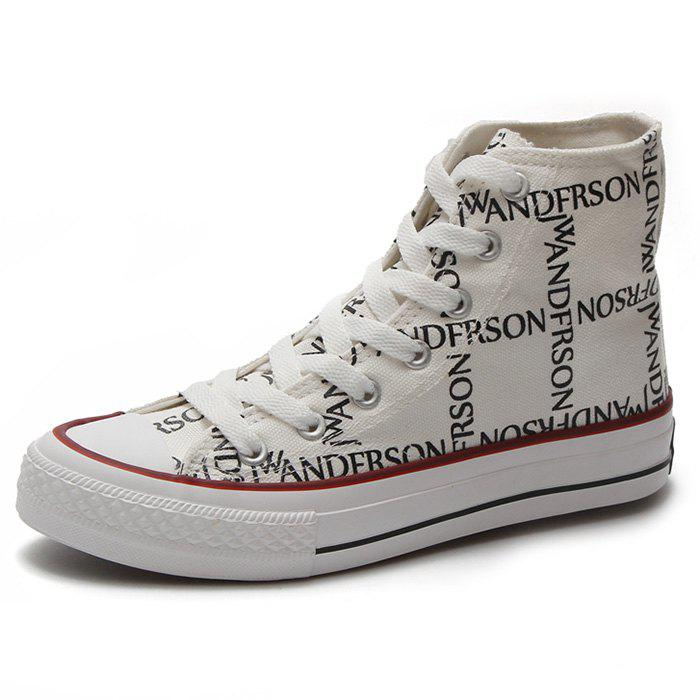 New High Cut Women Canvas Shoes