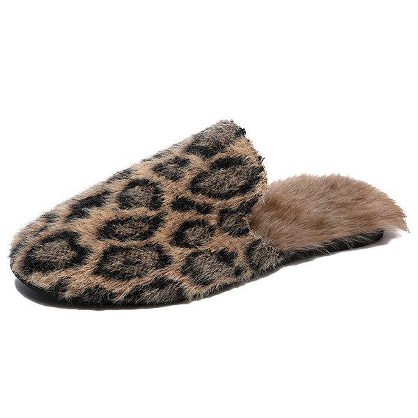 Outfit Fashion Winter All-matched Women Slipper