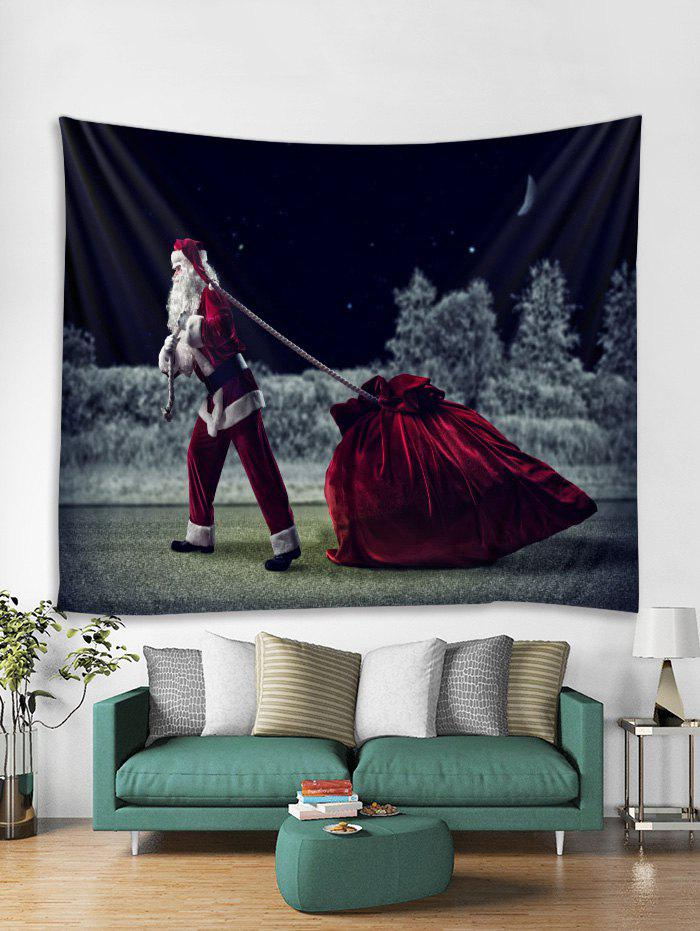 Cheap Father Christmas Gift Pattern Tapestry Art Decoration