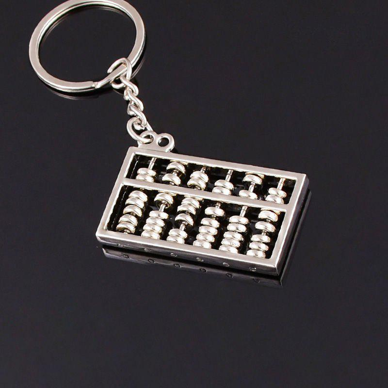 Outfits Creative Lucky Abacus Keychain Pendant