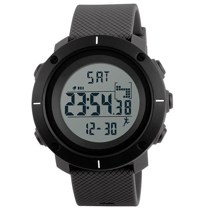Outfit Skmei 1215 Male Fashion Sports Step Multi-function Waterproof Electronic Watch