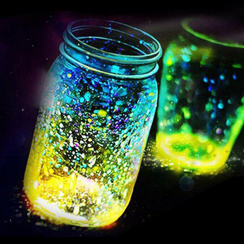 New Luminous Particle Fluorescent Sand For Home Decoration / Party