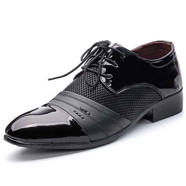 Buy Men's Shoes Leather Lace Up Wearable