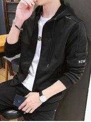 Creative and Simple Jacket - Noir M