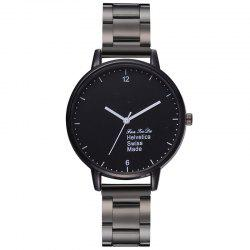 Fanteeda FD304 Fanteeda Steel Belt Montre de mode simple -