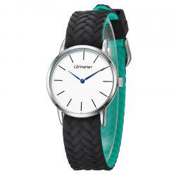 REBIRTH D003 High Quality Movement Unisex Couple Quartz Watch -