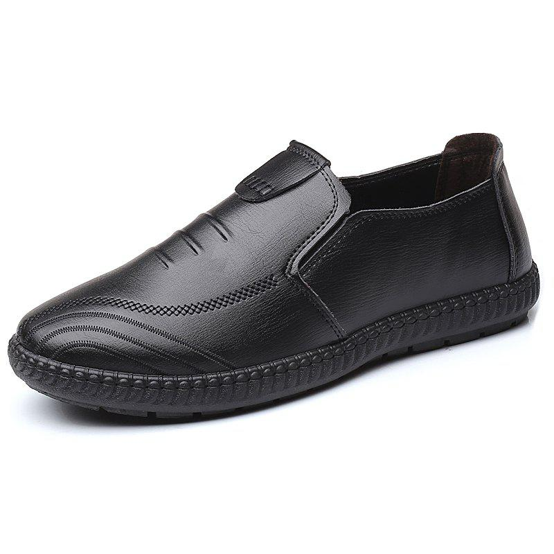 Trendy Men's Oxford Leather Fashion Shoes