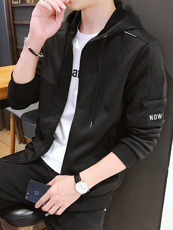 Creative and Simple Jacket Noir M