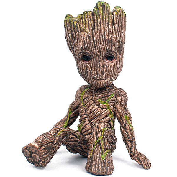 2019 Grout Tree Man Sitting Posture Doll Rosegal Com