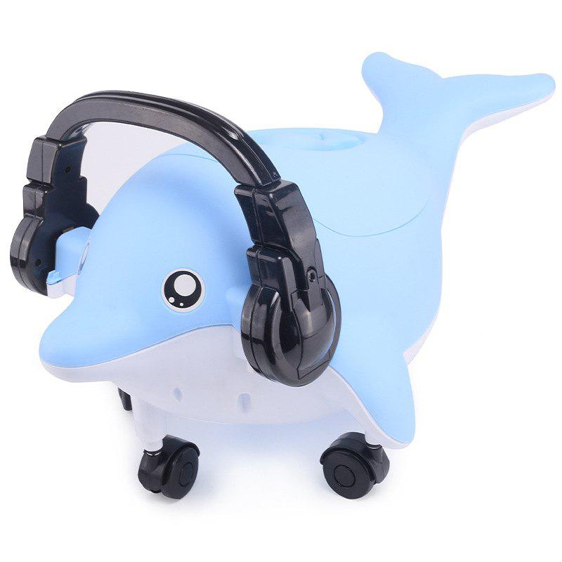 Store Dolphin Music Cartoon Children Toilet Small Toilet Baby Toilet
