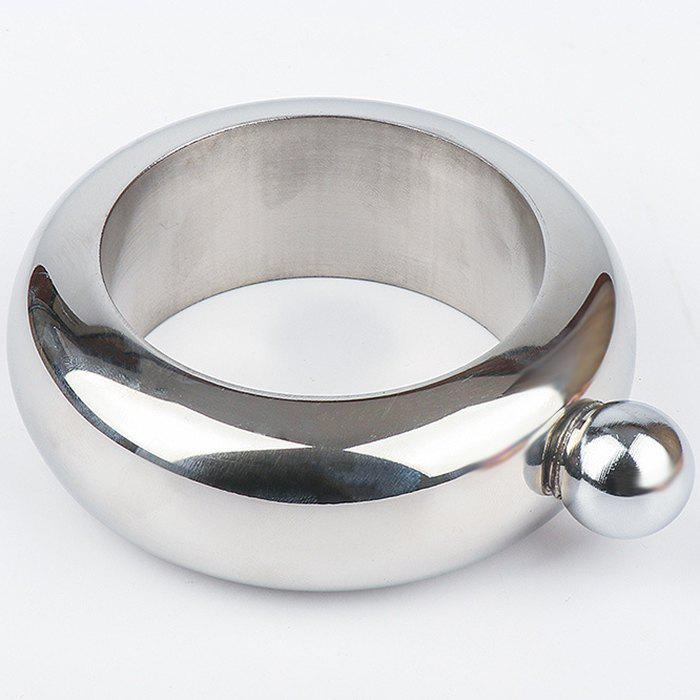Portable Stainless Steel Small Hip Flask Wine Bottle Bracelet