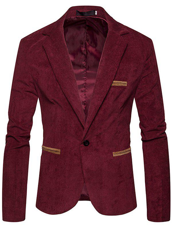 Outfits Fashion  Corduroy Color Casual Small Suit Jacket