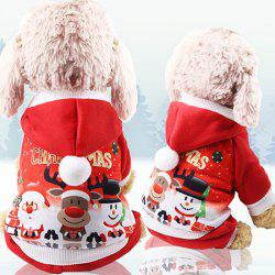 A82 Christmas Dog Pet Clothes -