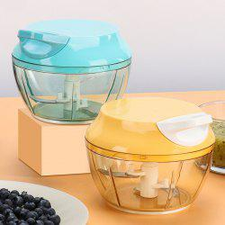 Kitchen Gadget Anti-fall Thickening Small Cooking Hand-held Garlic Container -