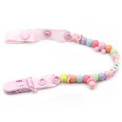 Baby Pacifier Clip Chain Newborn Dummy Holder Christmas Gift -