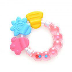 Bell Baby Teether Molar Stick Baby Rattle Silicone Bite Teether -