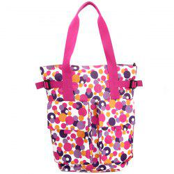 2 in 1 Shoulder Portable Fashion Multi-function Large Capacity Mother Bag -