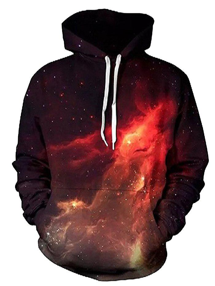 Мужская толстовка Hoodie Fashion Casual Personality 3D Digital Printing
