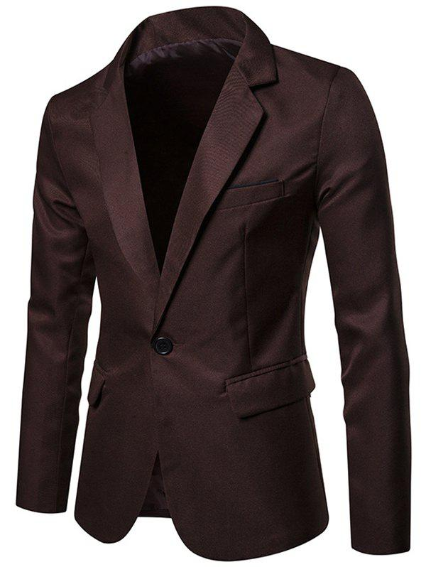 Buy X09 Autumn Men Suit Simple Solid Color One Button Jacket