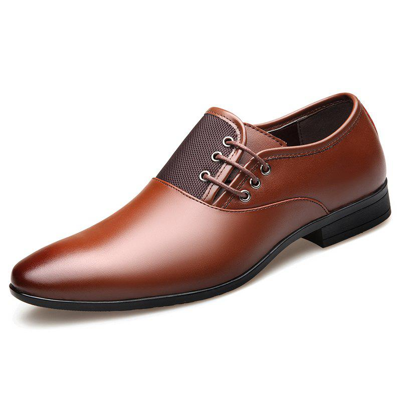 Trendy SYXZ 0112 Men Side Lace-up Shoes