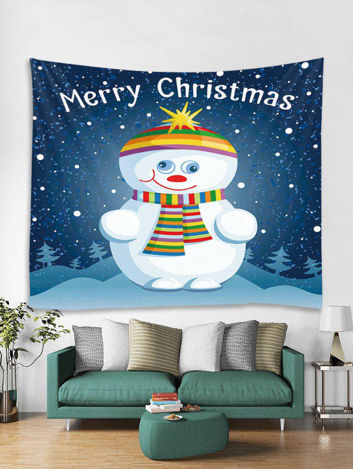 Affordable Funny Christmas Snowman Tapestry Art Decoration
