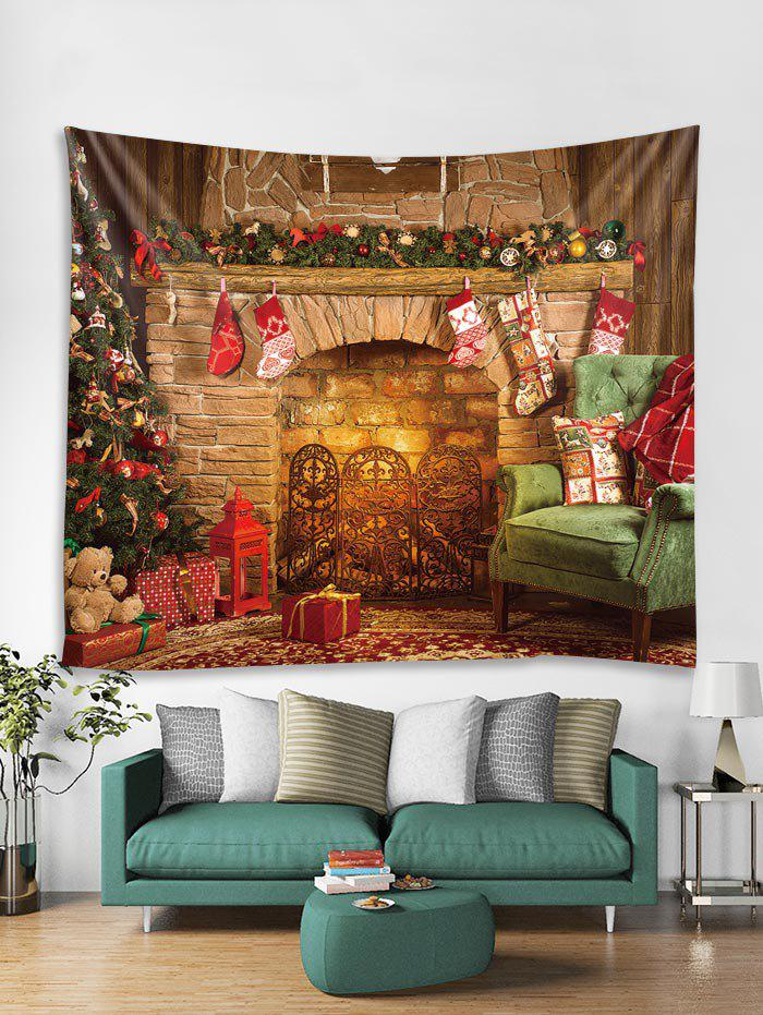 Unique Christmas Gift Stocking Printed Tapestry Art Decoration
