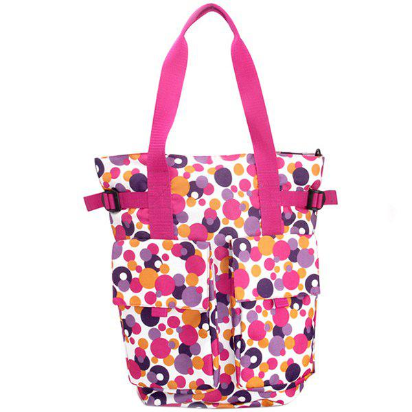 Cheap 2 in 1 Shoulder Portable Fashion Multi-function Large Capacity Mother Bag