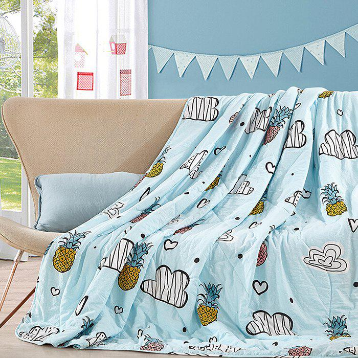Online JB - 1061 Mint Washed Quilt 1502 x 10cm