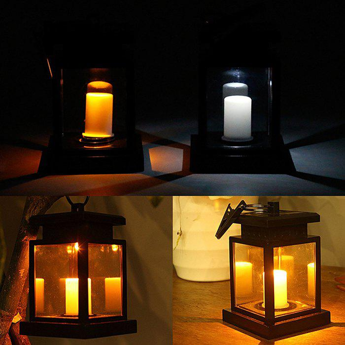 Store Outdoor Solar LED Candle Light Upgrade Edition Umbrella Table Lamp
