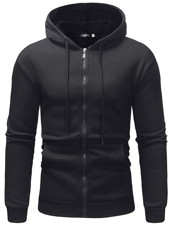 Outfit Fleece Casual Sweater Solid Color Zipper Ou Code Sports Hoodie