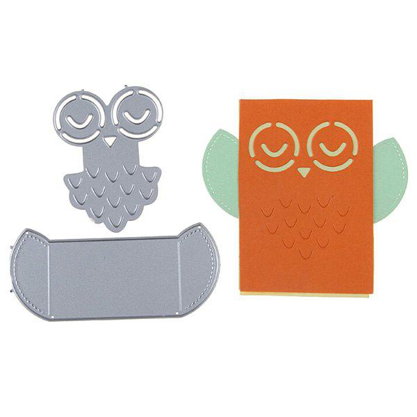 Outfit F1385 DIY Scrapbooking Mold Silver 2PCS