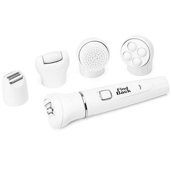 Trendy Shaving Hair Removal Device Five-in-one Dead Skin Callus Cleansing Massager
