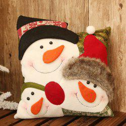 Christmas Snowman Pillow Cushion Decoration Christmas Child Gift -